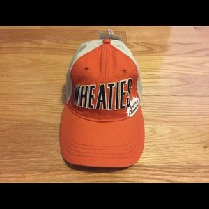 Other - Wheaties Velcro Strap Cap Hat